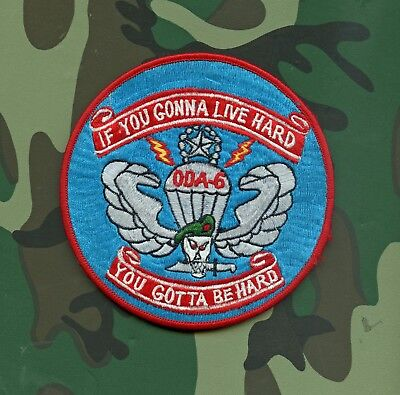 USA Special Forces Operational Detachment A-6, 3rd Battalion, 7th SFG. LARGE Jac