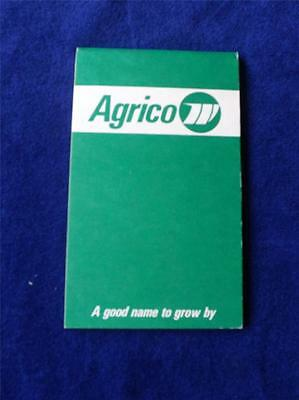 Agrico Notebook Vintage Advertising 1974 Hy-Way Service Centre Mitchell Ontario