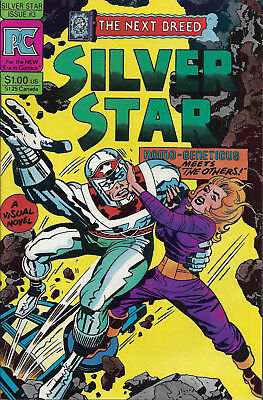 SILVER STAR  #3  Jun 83  Jack Kirby