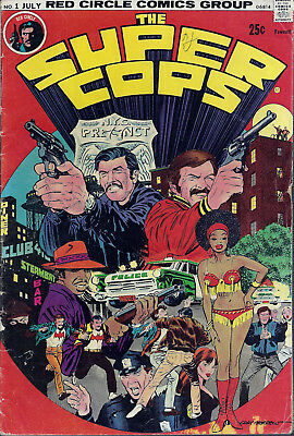 THE SUPER COPS  #1  Jul 74