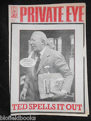 PRIVATE EYE - Vintage Satirical Political News Humour Magazine - 25th May 1979