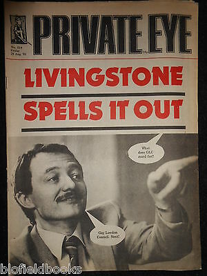 PRIVATE EYE - Vintage Satirical Political Humour Magazine - 28th August 1981