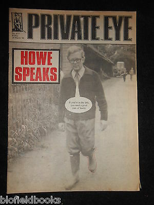 PRIVATE EYE - Vintage Satirical Political News Humour Magazine - 28th March 1980
