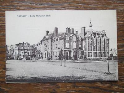 LADY MARGARET HALL, OXFORD - OXFORD SERIES No 2403 (1920s)