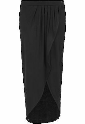 Urban Classics TB1043 Ladies Long Viscon Skirt Gonna Donna Streetwear Vestito