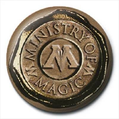 HARRY POTTER ministry of magic - BUTTON BADGE official licensed merchandise HP9