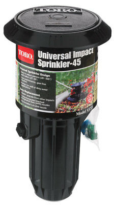 Toro  Universal  3 in. H Full-Circle  Pop-Up Impact Sprinkler  40 ft.