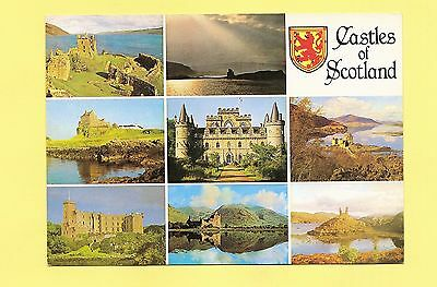 Postcard: Multiview - Castles of Scotland