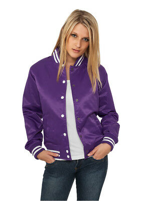 Ladies Shiny College Jacket Streetwear Giacca Donna Urban Classics