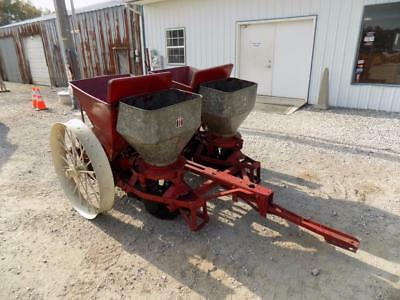 "International 2 Row Potato Planter For Tractors, Ground Driven, 36"" Spacing"