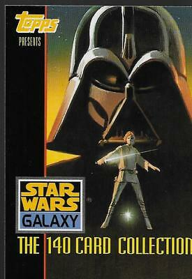 Star Wars Galaxy Series One The 140 Card Collection Komplettes Trading Card Set