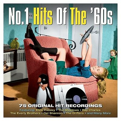 No. 1 Hits Of The 60s VARIOUS ARTISTS 75 Original Hit Recordings BEST New 3 CD