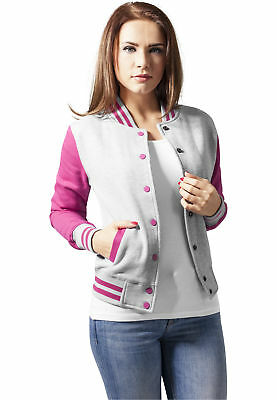 MAG Urban Classics TB218 Ladies 2-tone College Sweatjacket Giacca donna Jacken