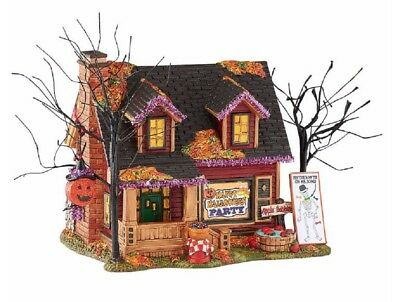 Department 56 Halloween Village Party House Lighted Building Figurine 4051008