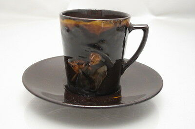 Antique Royal Doulton Kingsware Pied Piper Cup Saucer
