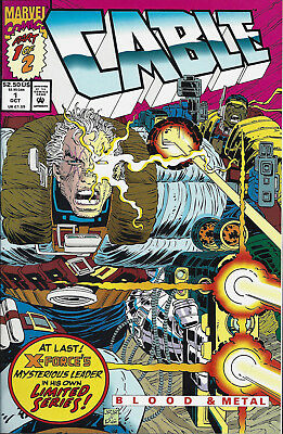 CABLE BLOOD & METAL #1  Oct 1992