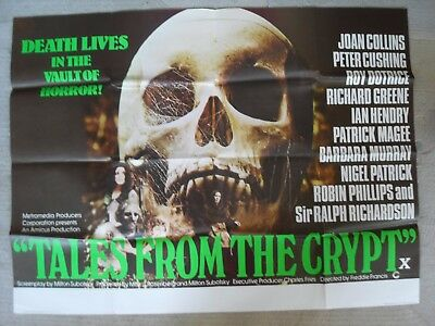 Tales From The Crypt, Quad Poster 1972