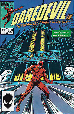 DAREDEVIL #208  Jul 1984