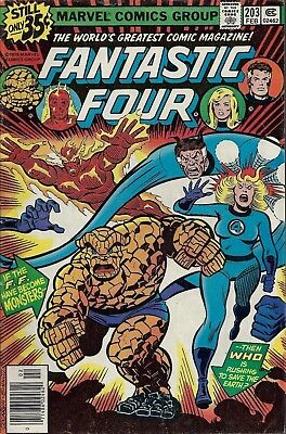 FANTASTIC FOUR #203  Feb 1979