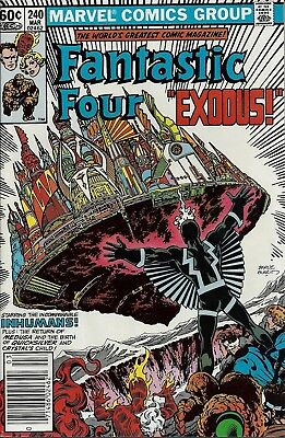 FANTASTIC FOUR #240  Mar 1982
