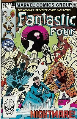 FANTASTIC FOUR #248  Nov 1982
