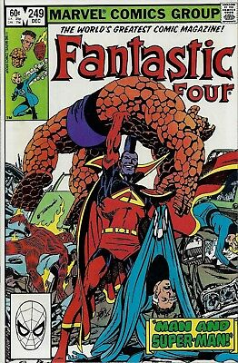 FANTASTIC FOUR #249  Dec 1982