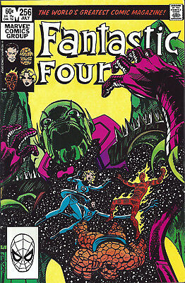 FANTASTIC FOUR #256  Jul 1983