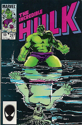 INCREDIBLE HULK #297  Jul 1984