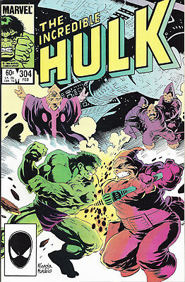 INCREDIBLE HULK #304  Feb 1985