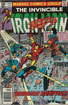 IRON MAN #145  Apr 1981