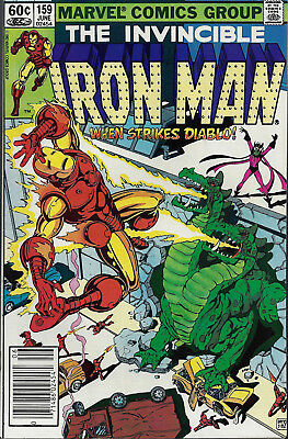 IRON MAN #159  Jun 1982