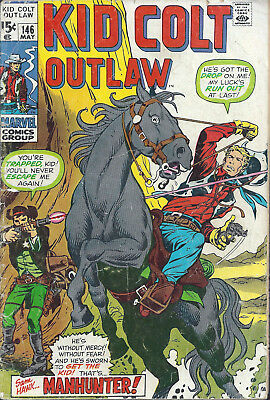 KID COLT OUTLAW #146  May 1970