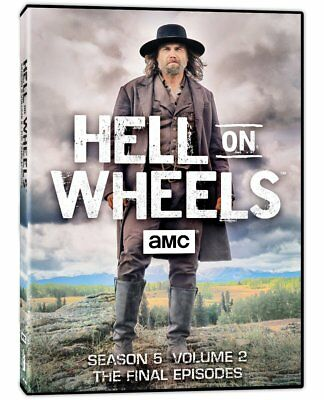 Hell on Wheels 2011 Season 5 Volume 2 The Final Episodes DVD Box Set Anson Mount