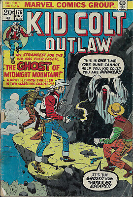 KID COLT OUTLAW #176  Nov 1973