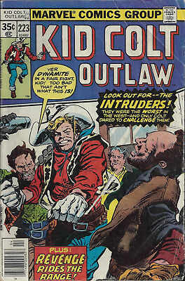KID COLT OUTLAW #223  Apr 1978  R:KCO #136