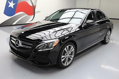 2016 Mercedes-Benz C-Class Base Sedan 4-Door 2016 MERCEDES-BENZ C300 SPORT P2 HTD SEATS NAV REAR CAM #174664 Texas Direct