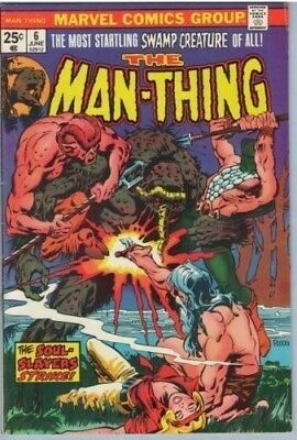Man-Thing 6 Jun 1974 FI (6.0)