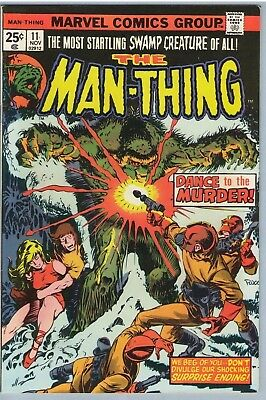 Man-Thing 11 Nov 1974 VF- (7.5)