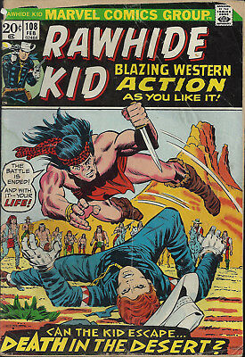 RAWHIDE KID #108  Feb 73