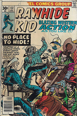 RAWHIDE KID #137  Jan 76  R:RK#17