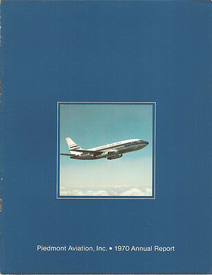 Piedmont Airlines annual report 1970 [4092]