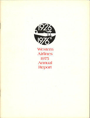 Western Airlines annual report 1975 [3052]