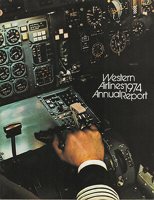 Western Airlines annual report 1974 [3052]