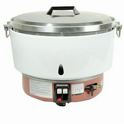 1 Set Thunder Group GSRC005L Propane Gas Rice Cooker 50 Cups (Raw) Cookware