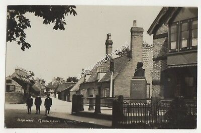 Brown's Monument Houghton Huntingdonshire Vintage RP Postcard 686b