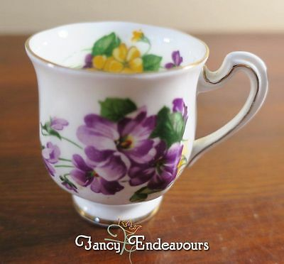 Royal Standard Lavender Lady Fine Bone China Footed Demitasse Cup Only