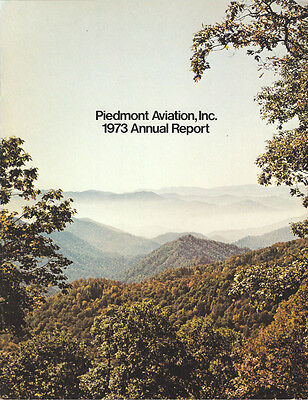 Piedmont Airlines annual report 1973 [4092]