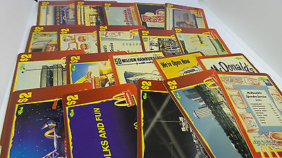 Lot of 20 Different Sprint $2 Score Board 1996 McDonald's Unused Phone Cards