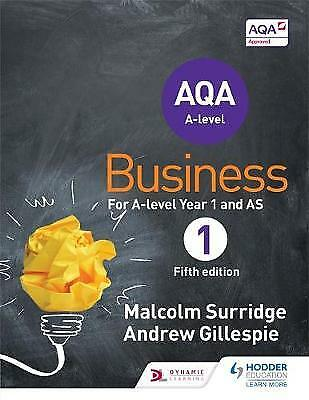 AQA Business for A-level Year 1 and AS, Surridge, Malcolm