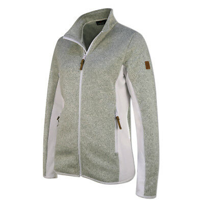 Catmandoo Ladies Fleece Jacket with Flattering Fit in White